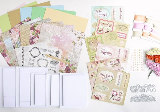 See what's in the June 2018 craft subscription box